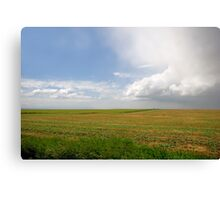 Storm on the Prairies Canvas Print