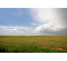 Storm on the Prairies Photographic Print