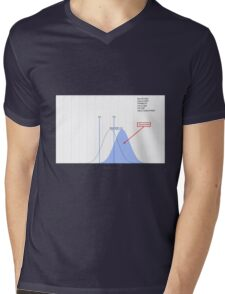 Distance from Normal Mens V-Neck T-Shirt