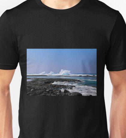 Waves Exploding Unisex T-Shirt