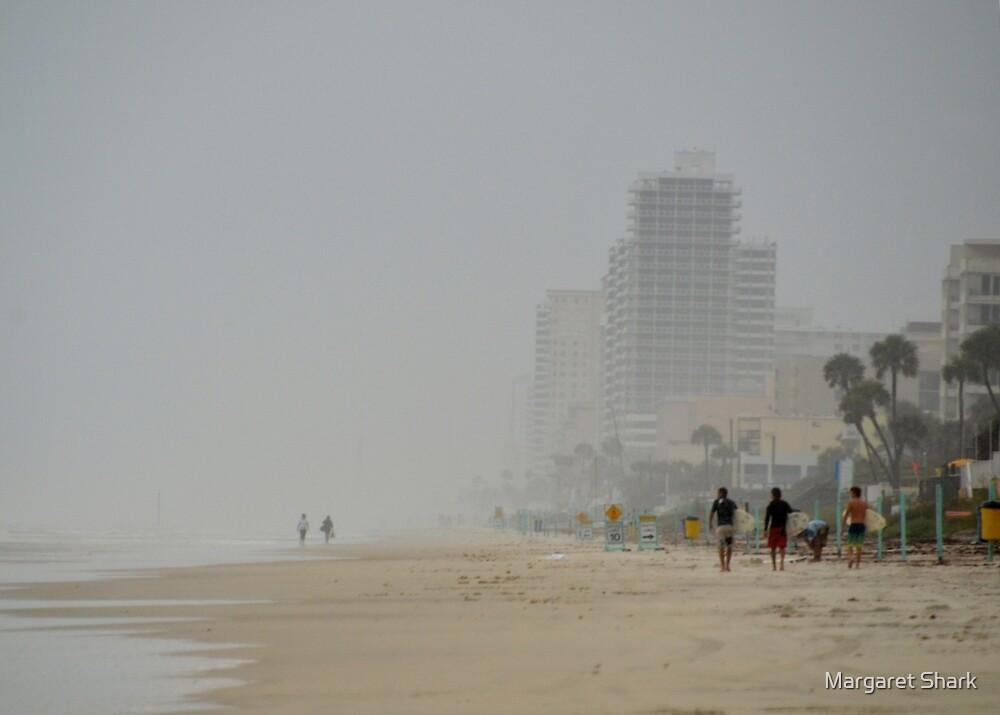 Tropical Storm Beryl at Ormand Beach Fl by Margaret  Shark