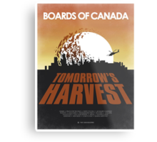 Boards of Canada - Tomorrow's Harvest Movie Poster Metal Print