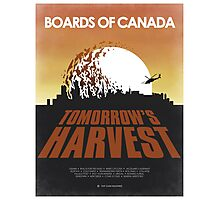 Boards of Canada - Tomorrow's Harvest Movie Poster Photographic Print