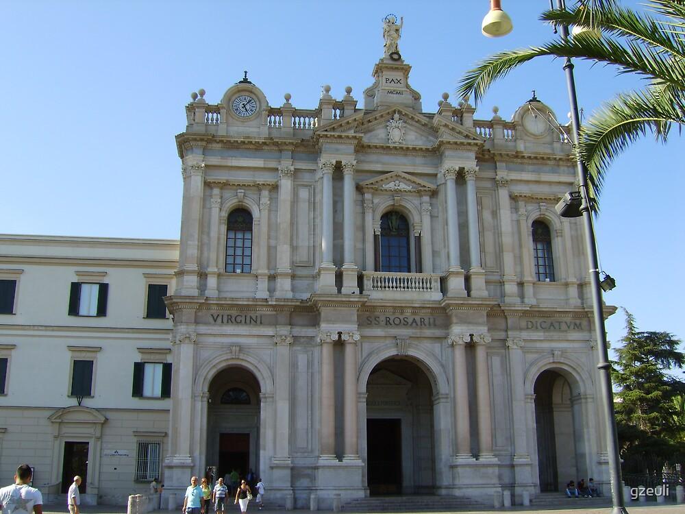 Pompeii Church by gzeuli
