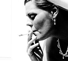 Smokin' in the girls room by Deena Fitzpatrick