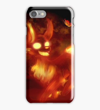 Little Fire and Butterfly iPhone Case/Skin