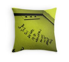 Southern Social Networking Throw Pillow