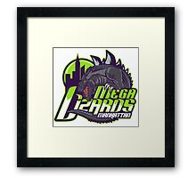 MEGA LIZARDS Framed Print
