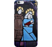 Nativity Stained Glass iPhone Case/Skin
