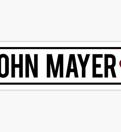 John Mayer ❤ Sticker