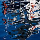 iPad Case.  Marina Abstract. by Alex Preiss
