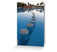 Walk on the water Greeting Card