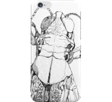 Acrididae Drawing iPhone Case/Skin
