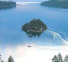 Emerald Bay, Lake Tahoe by Kenn Jensen