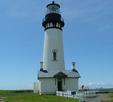 Yaquina Head Lighthouse by nightshadow57