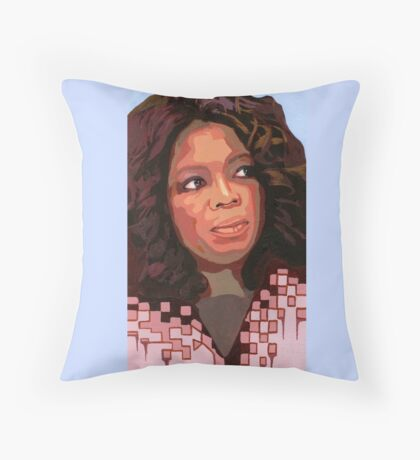 I look to the side as you advise that my cultures foundations rot, is this on sale? (Oprah Winfrey) Throw Pillow