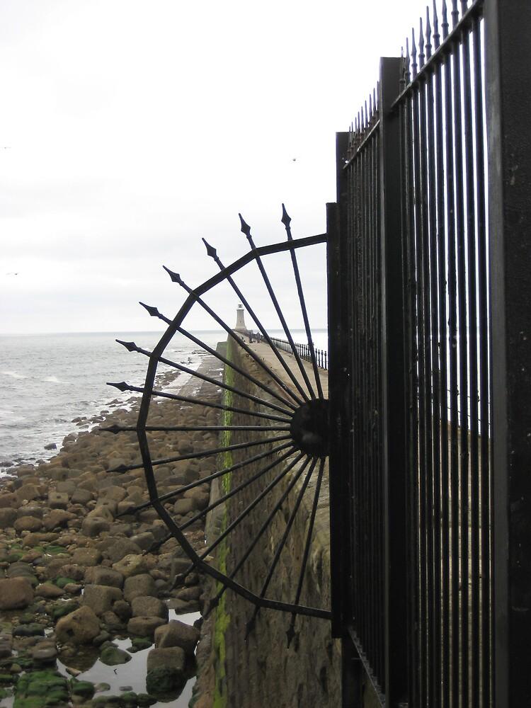 Pier Through the Railings ...? by shelagh1312