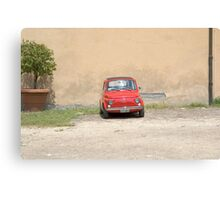 Lonely Fiat Canvas Print