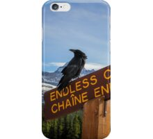 A Sign of the Raven iPhone Case/Skin