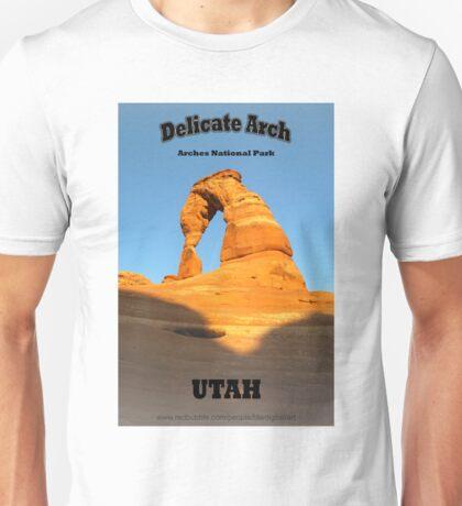 Delicate Arch Unisex T-Shirt