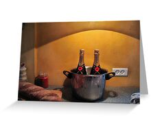 Still Life with Bread Greeting Card