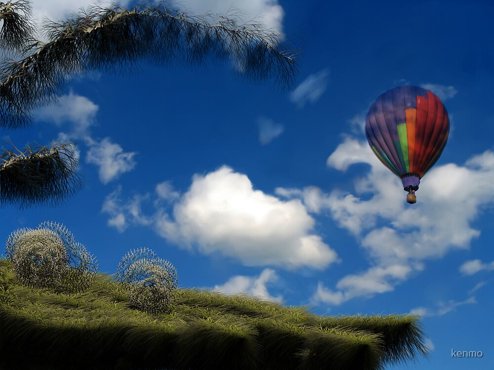 Afternoon Flight by kenmo