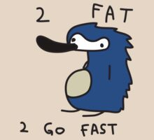 Sanic the Hegehog - 2 FAT 2 GO FAST T-Shirt