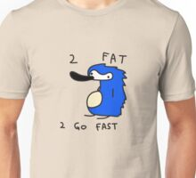 Sanic the Hegehog - 2 FAT 2 GO FAST Unisex T-Shirt