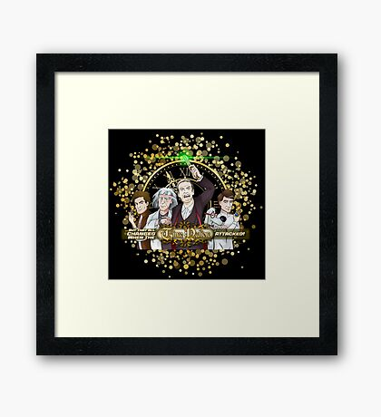 But That All Changed When The Time Nation Attacked! Framed Print