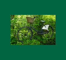 Vintage classical Bicycle against a tree Unisex T-Shirt