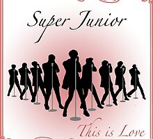 This is Love - Super Junior    by kpoplace