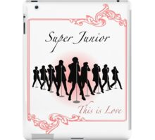 This is Love - Super Junior    iPad Case/Skin