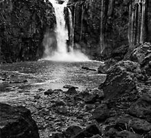 Iguaza Falls - No. 12 - Monochrome by photograham