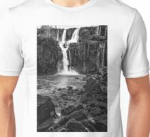 Iguaza Falls - No. 12 - Monochrome Unisex T-Shirt