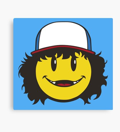 Official Dustin Charity Campaign Tee Canvas Print