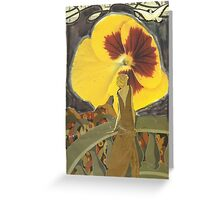"""Remember The Music(inspired by Debussy's """"Clair De Lune"""") Greeting Card"""