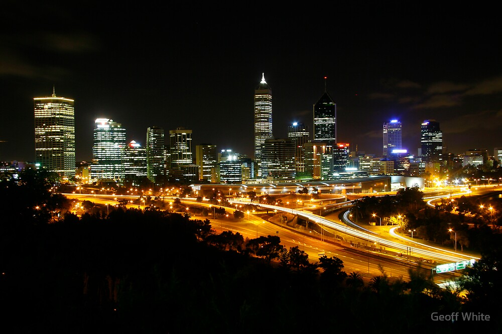 Perth from the Park by Geoff White