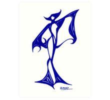 Exotic Dancer Art Print