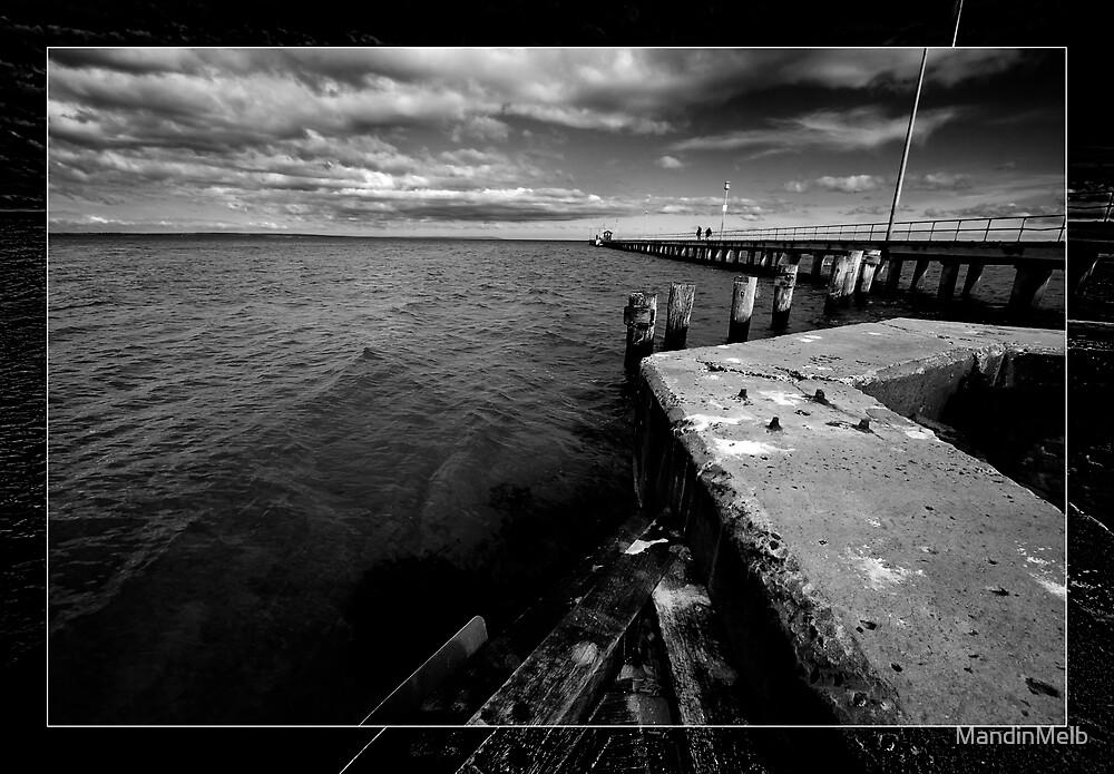 Moordialloc Pier by MandinMelb