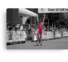 Winning the Race Canvas Print