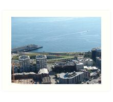 Seattle Water Front 518A Art Print
