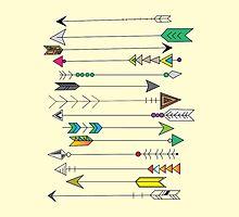 Feather Head Arrows by Kaylee Brickey