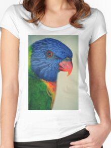 Tino, My Rainbow Lorikeet Women's Fitted Scoop T-Shirt