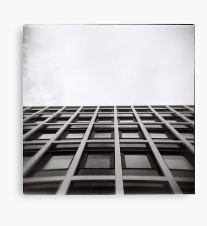 Wall and Sky Canvas Print