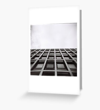 Wall and Sky Greeting Card