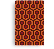 Overlook Hotel Carpet (The Shining)  Canvas Print