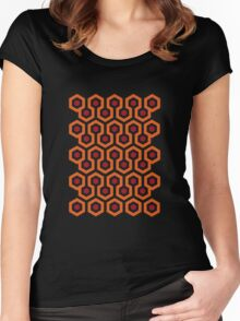 Overlook Hotel Carpet (The Shining)  Women's Fitted Scoop T-Shirt