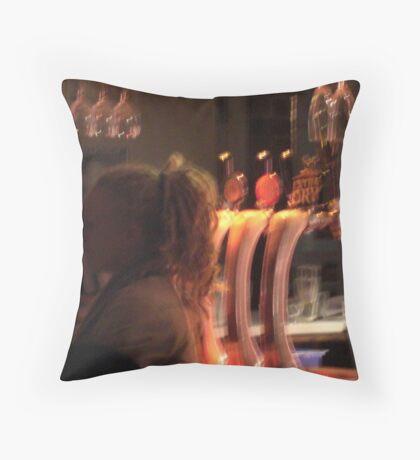 I Spy on music Throw Pillow