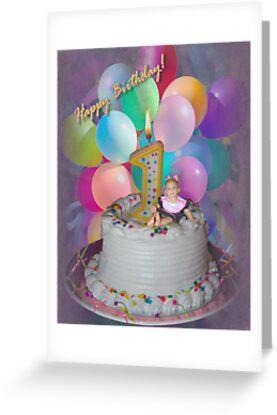 Happy birthday I'm 1! by cheerishables