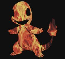Pokemon: Textured - Charmander by CharlesLaurita